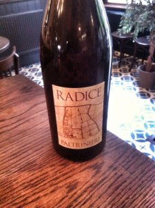 "@BiboRestaurant; ""World Lambrusco Day is Saturday 21st June. DRY Lambrusco di Sorbara. Blush pink."""