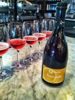 "@BiboRestaurant: ""Lambrusco baby, it's dry, it's dry, it's DRY."""