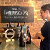 Lambrusco Day 2014 at Rotorino, London, UK