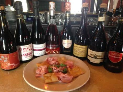 Lambrusco Day 2014 at Dolce Vita Pizzeria, Houston, TX