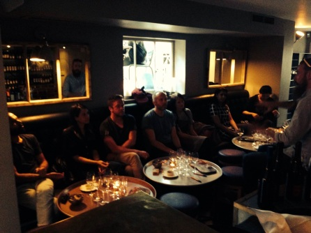 Lambrusco Day 2014 at Homa and Sotto, London, UK